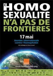 LE PCFCF Soutient la Journée mondiale contre l'homophobie du 17 Mai