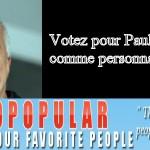 Votez pour Paulo comme personnalité 2009