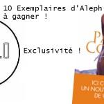 Concours : 10 exemplaires d'Aleph, le nouveau roman de Paulo Coelho à gagner !